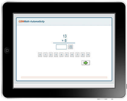 CBMMath Automaticity CBMMath Automaticity may be completed on a computer, tablet or Chromebook in 90 seconds.