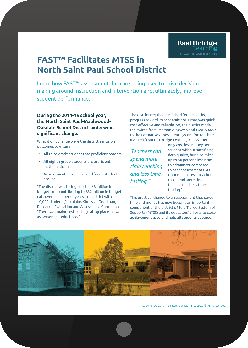North St. Paul case study mtss